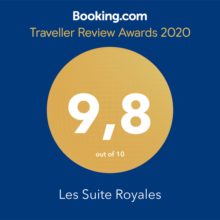 les suite royales awards booking